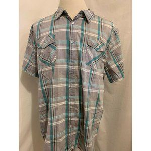 Carbon Classic Fit Short Sleeve Casual Shirt